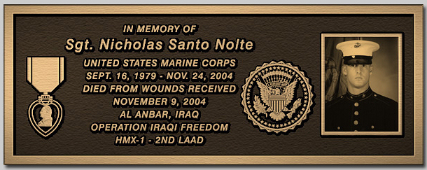 Metal Bronze Plaques For Memorials Military And Veteran