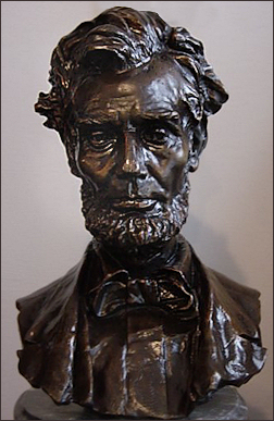 Bronze Bust Abraham Lincoln