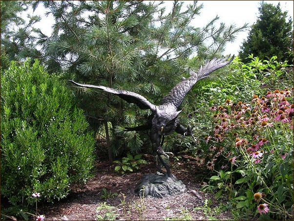 The Large Art Company | Landscaping With Bronze Sculptures And Bronze  Statues