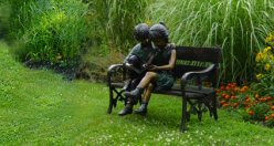 Merveilleux Bronze Children Statues And Children Sculptures. Great For Garden Statues  And Garden Sculptures