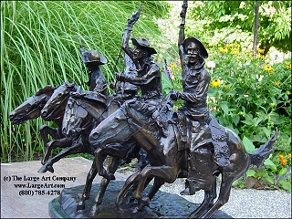 Frederic Remington Statue Of Coming Through The Rye Original Size Western Father S Day Gift Ideas Frederic Remington Unique Gifts Birthday Christmas Anniversary Unique Gifts Birthday Christmas Anniversary The