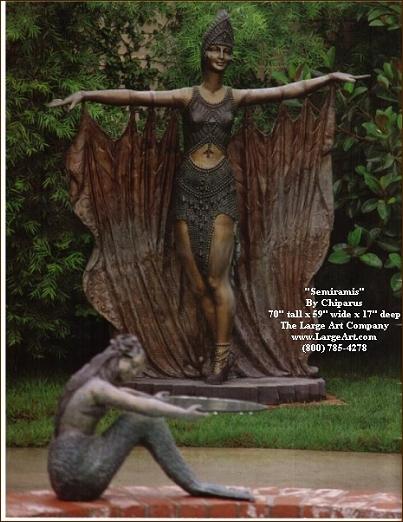 Life Size Garden Statue ...